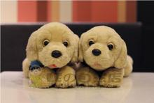 Children'S Toy  Plush Rescue Dog Doll  Simulation Labrador  Stuffed Toys  Good Quality Boy Gifts