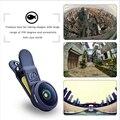 APEXEL HD 210 grados profesional óptico lente de teléfono de pantalla completa no hay rincones oscuros de ojo de pez 10mm universal para todo el teléfono móvil