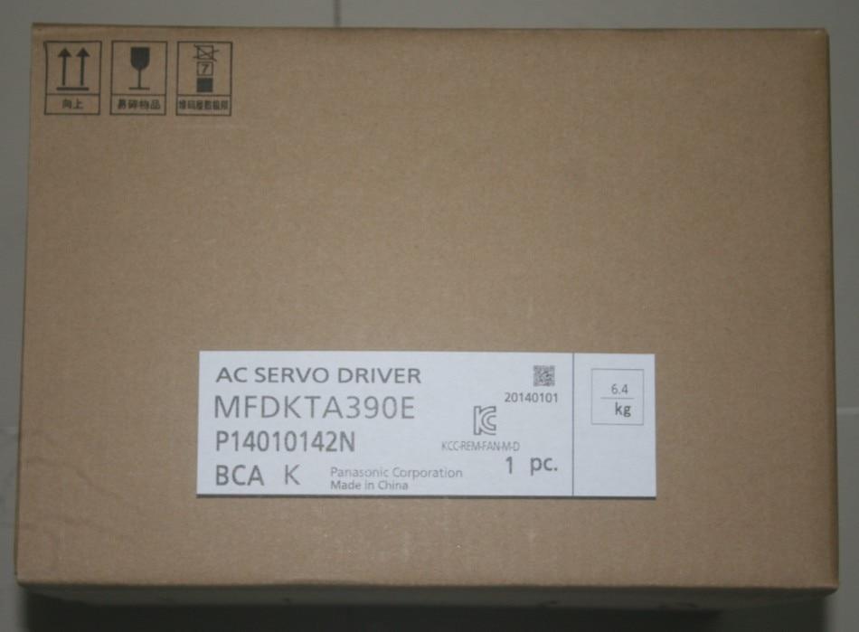 все цены на MFDKTA390E AC200V A5II Series AC Servo Motor driver update replace MFDHTA390E онлайн
