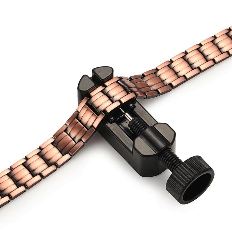 RainSo Red Copper Magnetic Bracelet para Hombres Mujeres Imán de 2 - Bisutería - foto 4