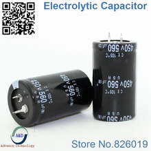 5 adet/grup 450 v 560 uf Radyal DIP Alüminyum Elektrolitik Kapasitörler boyutu 35*50 560 uf 450 v Tolerans 20%