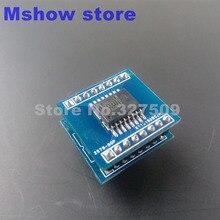 1X PGA2311 PGA2311UA IC chip SOP16 để DIP16 ADAPTER cho preamp âm thanh hifi