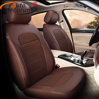 AutoDecorun Full Set Genuine Leather Cover Seat for BMW X3 Series Seat Covers Car Accessories Cowhide Seats Cushions Protectors