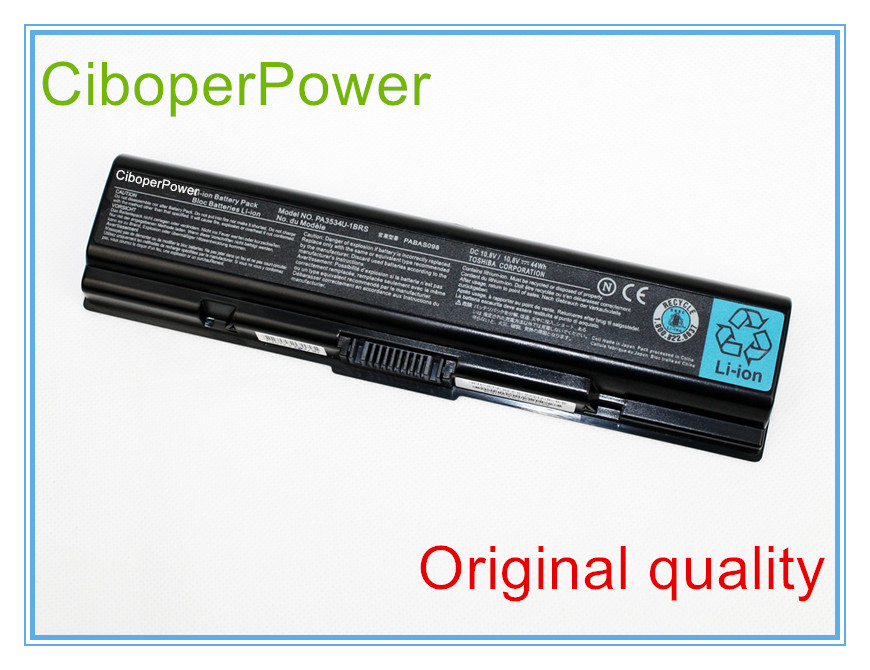 Original PA3534U-1BRS Laptop Battery for A200 A210 A300 A350 L300 L500 L505 PA3533U-1BRS PA3534U
