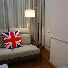 Modern Fishing LED Floor Lamps Living Room Bedroom Bedside Light Lighting Wind Vertical Standing Lamp Kitchen Fixtures