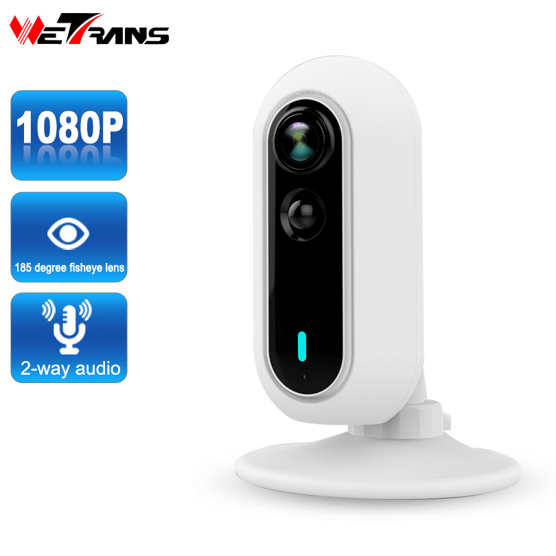 IP Camera Wifi Full HD 1080P Wireless PIR Detect Panoramic Fish Eye Lens 10m Night Vision P2P Home Security Mini Wifi Camera pvt 898 5g 2 4g car wifi display dongle receiver airplay mirroring miracast dlna airsharing full hd 1080p hdmi tv sticks 3251