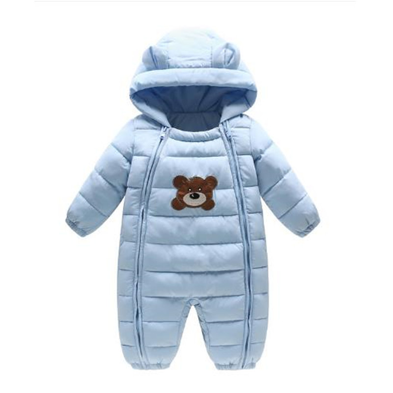 Baby Girl Rompers 2017 Winter Long Sleeve Cartoon Animal Bobycon Jumpsuit Newborn Baby Boy Rompertjies Clothes B0265 winter autumn fall baby clothes flannel baby boy clothes cartoon animal jumpsuit baby girl rompers long sleeves covered button