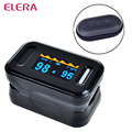 ELERA Digital Fingertip Pulse Oximeter WITH CASE Finger Oximetro de dedo Pulsioximetro CE Blood Oxygen SpO2 Saturatio a Finger