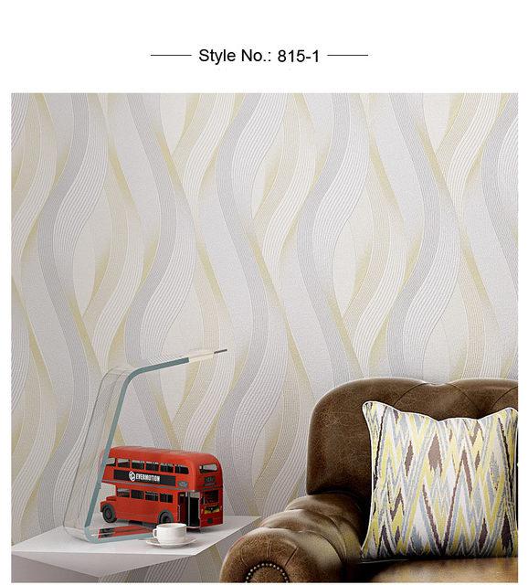 Moderne Solide Büro Wandpapierrollen Einfarbig Wasserdichte Tapete Streifen  Für Schlafzimmer Wände Display Beige Grau Khaki KaffeeUSD 34.29/piece