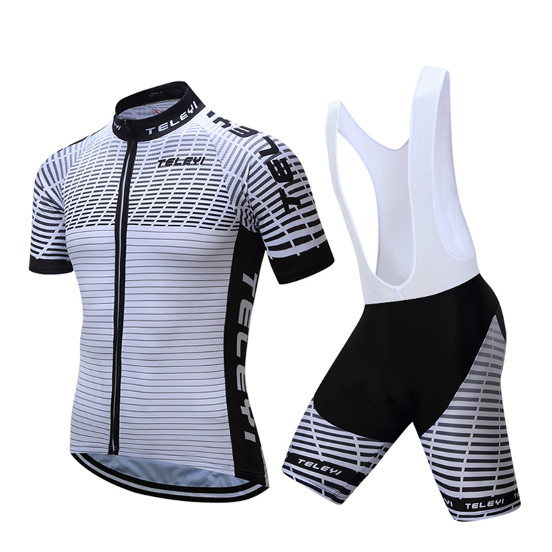 2019 Men Pro Cycling Clothing Kit Road Racing Bike Clothes Suit Sport Complete Bicycle Uniform Dress Wear Mtb Jersey Outfit Sets