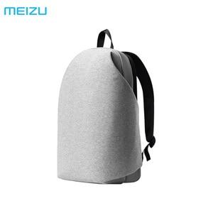 Image 1 - Meizu mochila impermeable Original para ordenador portátil, de oficina para hombre y mujer morral, mochila escolar de gran capacidad para bolsa de viaje, mochila para exteriores