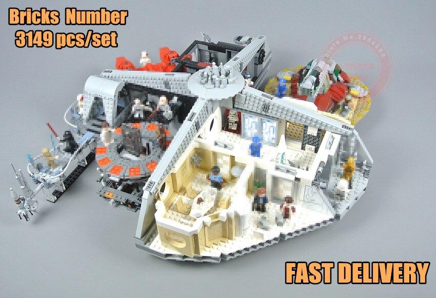 New Star Plan betrayal in cloud city game legoings 75222 star wars figures blocks bricks educational toys for children gift цена