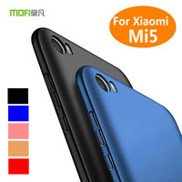 Original Brand MOFI Hard PC Matte Back Cover For Xiaomi Mi 5 M5 Full Protective Ultra