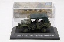 Весы IXO 1:43 для Dodge WC 57 expeditional Force, бразильские модели литья под давлением, игрушки, автомобили, Военная Тактическая модель, коллекция джипов