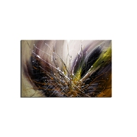 No Frame 100% Handpainted Modern Abstract Color Oil Painting Canvas Wall Art Picture For Living Room Decoration