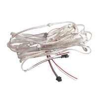 WS2812B DC5V Pré-soldada LEVOU Módulo String Fio Flexível Painel SMD 5050 Pixels RGB Individualmente Endereçáveis 50 100 pçs/lote JQ