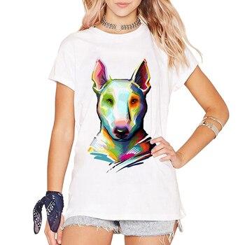 T-shirts Bull Terrier Mode Femmes