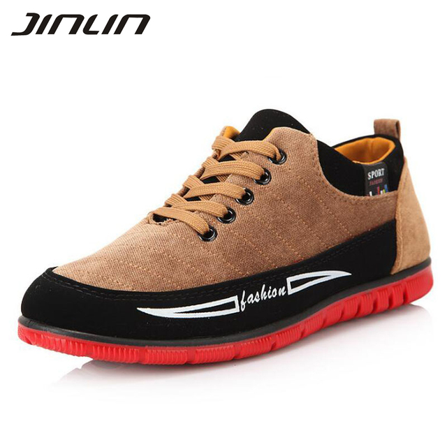 men canvas shoes 2016 New men's casual shoes spring and autumn flat shoes for men animation logo fashion shoes