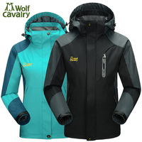 CavalryWalf Outdoor Waterproof Hiking Jackets For Women Men Climbing Rain Coat Camping Windbreaker Trekking Sport Jacket