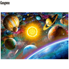 Planets,Outer Space,Boys 5D DIY Diamond Painting,Galaxy,Stars,Mosaic Paint Diamond Embroidery Cross Stitch Handmade Home Decor