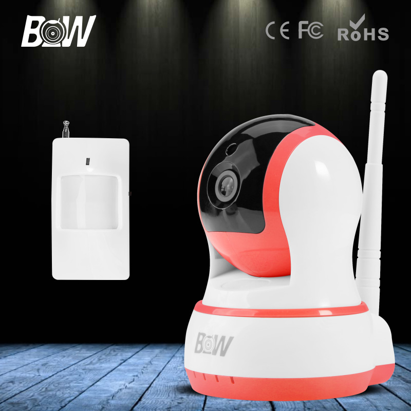 ФОТО BW HD 720P Mini IP Camera Wireless Wifi Onvif Could Video Security CCTV Infrared Motion Sensor IR Alarm Smart P2P Baby Monitor
