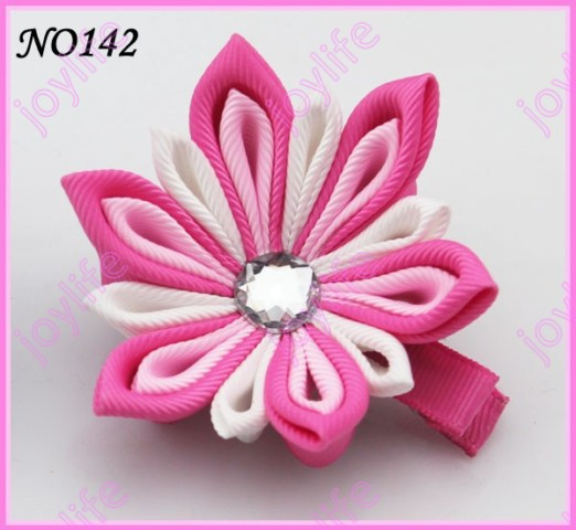 "50 шт 2,5-"" цветок канзаши заколки для волос катушка для значка заколки для волос"