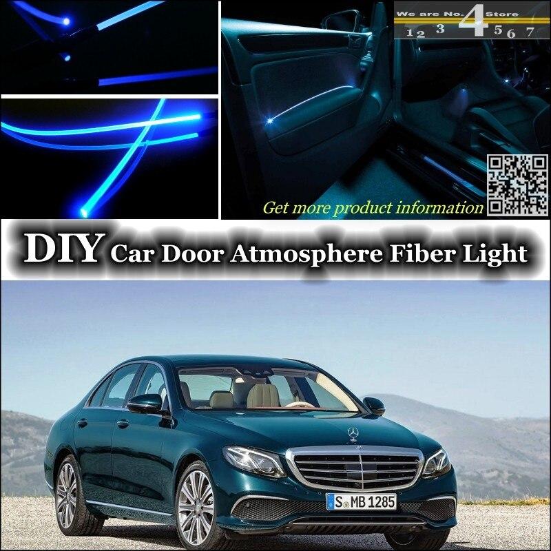LETRONIX RGB LED Ambientebeleuchtung 5er Set Mercedes W212 A207 C124 C207