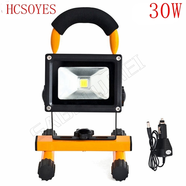 1pcs 30w led flood lighting rechargeable waterproof outdoor led 1pcs 30w led flood lighting rechargeable waterproof outdoor led emergency lamp portable spotlight battery powered led workwithnaturefo