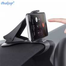 Peaktop Car Phone Holder Dashboard Mount Universal Cradle Cellphone Clip GPS Bracket Mobile Phone Holder Stand for Phone in Car