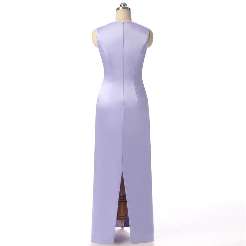 Doragrace Mode Drapieren Zwei Stück Watteau Zug Einfache Wunderschöne Abendkleid Formale Party Kleider - 3