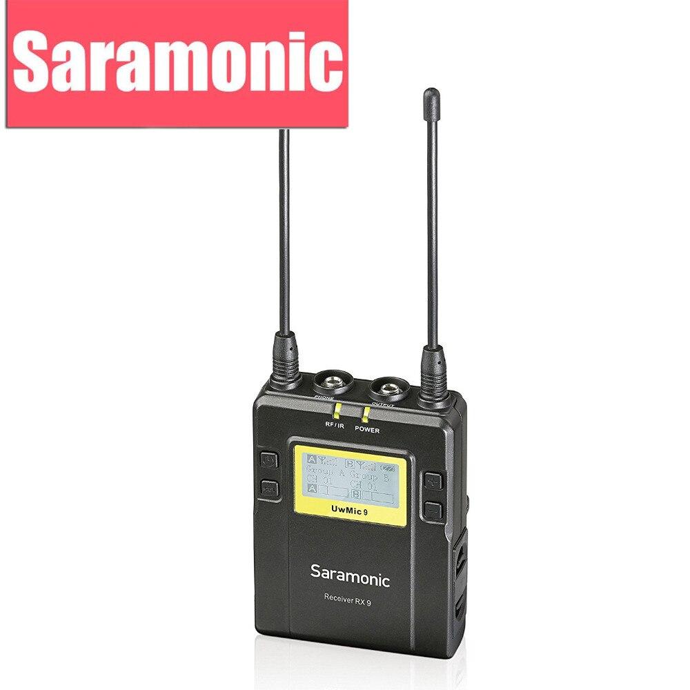 Saramonic RX9 Ricevitore Unità con 3.5mm Cavo di Uscita e Macchina Fotografica Scarpa Di Montaggio per il UWMIC9 Sistema Microfonico Wireless