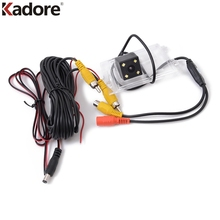 For Jeep Grand Cherokee Liberty Compass First GE 2011 – 2016 Car CCD Rear View Backup Reverse Parking LED Camera Nightvision Kit
