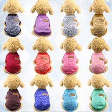 Dog Clothes For Small dog jersey cat Sweater Clothing Pet cats Chihuahua warm dogs autumn and winter sweater to keep