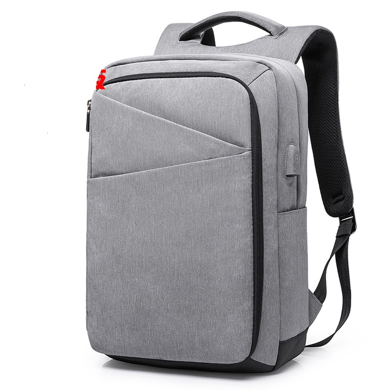 17010 New Computer Bag Oxford Student Backpacks lightweight USB male Bags business Bag Rechargeable Backpack ozuko multi functional men backpack waterproof usb charge computer backpacks 15inch laptop bag creative student school bags 2018