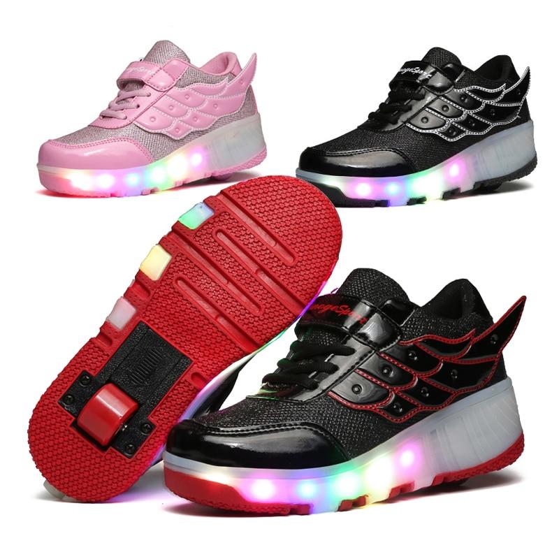 Heelys skate chaussures promotion achetez des heelys skate chaussures promotionnels sur - Patin antiderapant chaussure ...