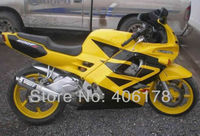Hot Sales,Cheap Motorcycle Fairing Fits for Honda 91 94 CBR600 F2 1991 1994 cbr 600 f Yellow & Black Motorcycle Fairings