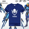 COOL OW GAME Cotton T Shirt Game Character Heroes Pharah T Shirts OW PHARAH Tee Shirt
