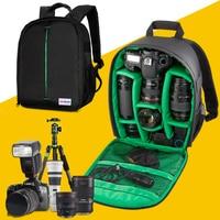 Camera Case Waterproof Shockproof Camera Backpack Bag for Canon Sony Nikon Pentax Dslr
