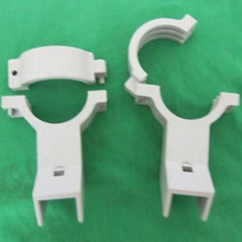 10pcs/lot High-frequency head clamps Nine households pass KU high frequency bracket clips White clinker thick Durabl