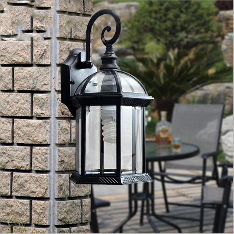 Outdoor Wall Light Accessories: Aliexpress.com : Buy Waterproof Outdoor Wall Lamp European