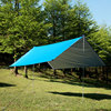 3 3m 210T With Silver Coating Gear Outdoor TarpUltralight Sun Shelter Camping Mat Beach Tent Pergola