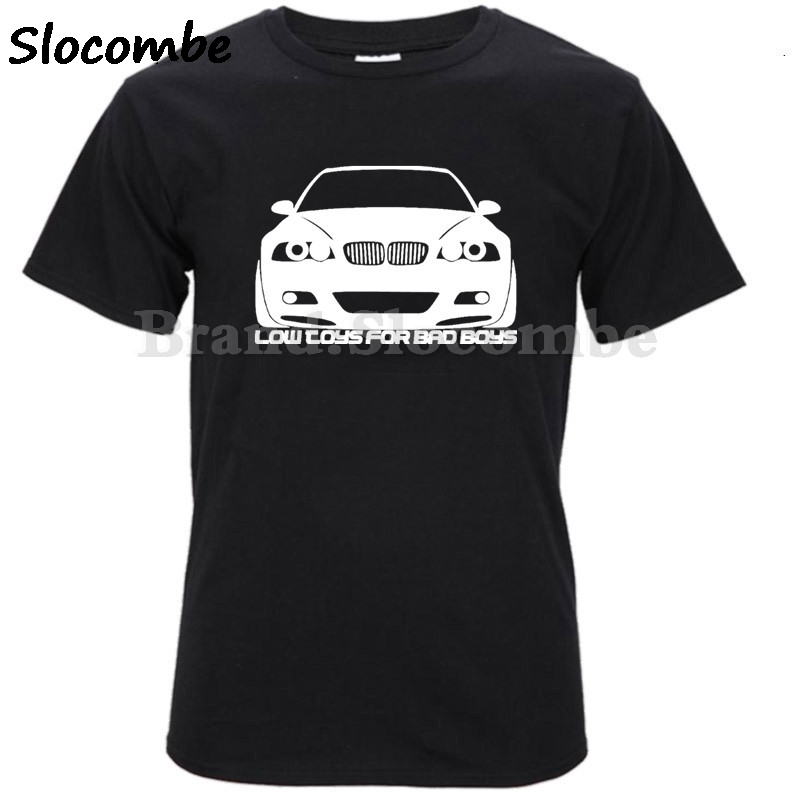 ba74b6a9cec Funny Car T Shirts M3 e30 e36 M5 Men s Summer Tops Short Sleeve Clothing  Tee Classic Men Cool Bmw T Shirt Male Supercar-in T-Shirts from Men s  Clothing on ...