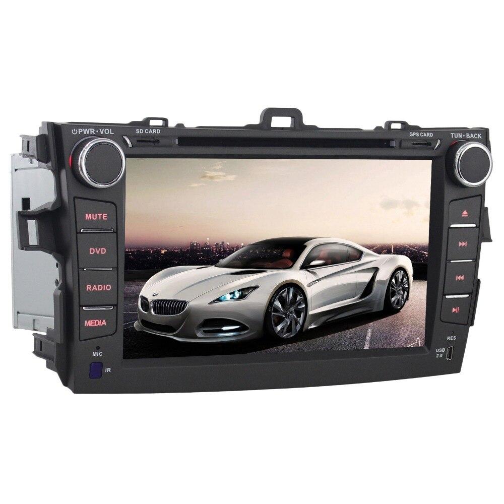 2GB RAM 32G ROM Android 6.0 Car Radio Multimedia DVD Player for Toyota Corolla 2007-2011 GPS Navi BT SWC WiFi ,Support OBD DAB+