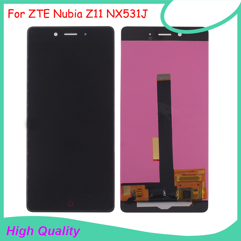 For ZTE Nubia Z11 NX531J LCD Display Touch Screen Digitizer Assembly For Nubia Z11 NX531J Mobile Phone LCD Display With Tools