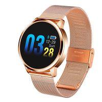 Q8 Heart Rate Monitor Smart Screen Watch Wristband Blood Pressure Oxygen Monitor Fitness Sports Bracelet Waterproof IP67 Pedomet