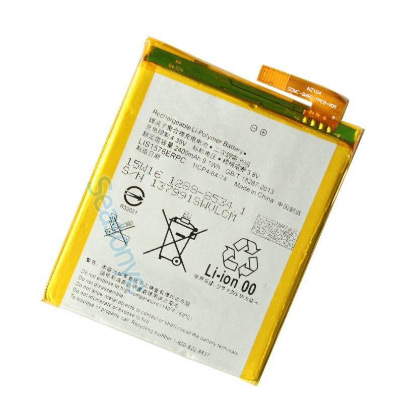 Seasonye 2400 mAh/9.1Wh LIS1576ERPC Batterie De Remplacement Pour M4 Aqua Aqua E2303 E2333 E2353 E2363 E2312 E2306 + de Suivi Code