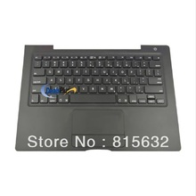 3pcs/lot NEW FOR Macbook A1181 US Top Case Touchpad Trackpad Keyboard Black