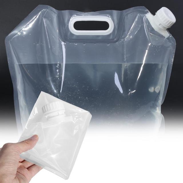 10L складной стакан для воды Спорт на открытом воздухе Кемпинг Туризм Storge ведро для воды для пикника контейнер для воды подъемная сумка для воды