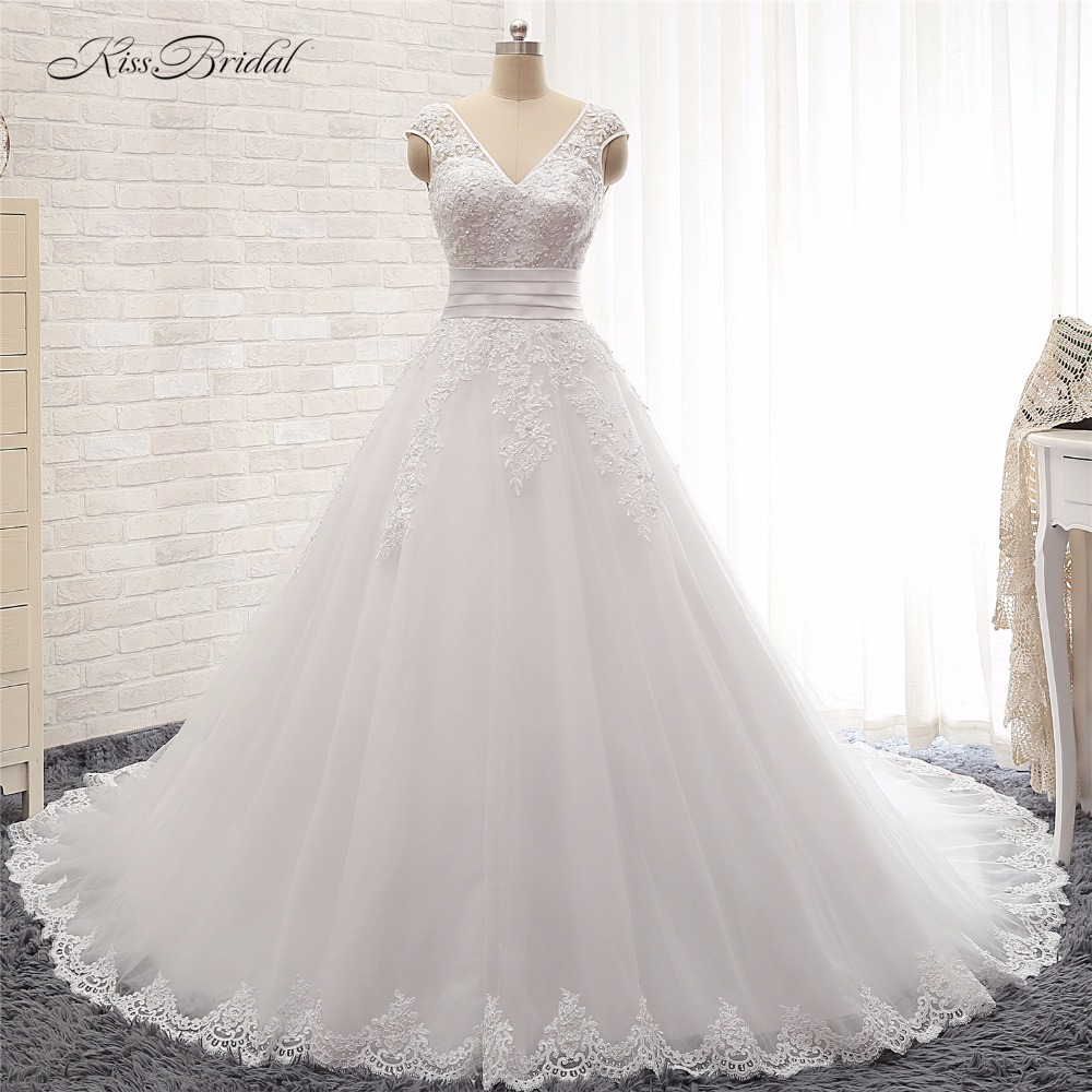 Stunning Wedding Dress: Vestido De Noiva Stunning Beautiful A Line Wedding Dresses