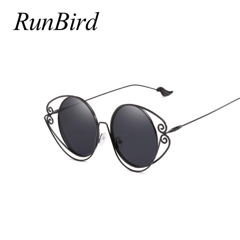 Luxury Round Sunglasses Women Brand Designer 2018 Vintage Retro Circle Sunglass Female Sun Glasses For Women Sunglass 1434R ...